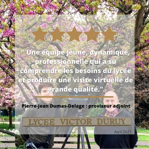 Avis Client lycée Victor Duruy