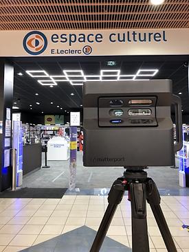 Visite virtuelle espace culturel e.lecle