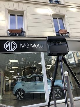 Visite Vitruelle TAS3D pour MG Motor Par