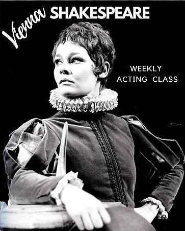 Vienna Shakespeare English acting class.
