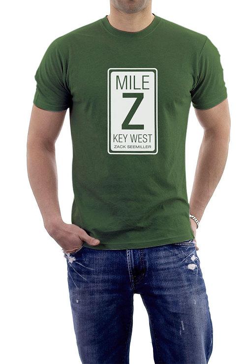 """Mile Z"" T-Shirt - Soft Green"