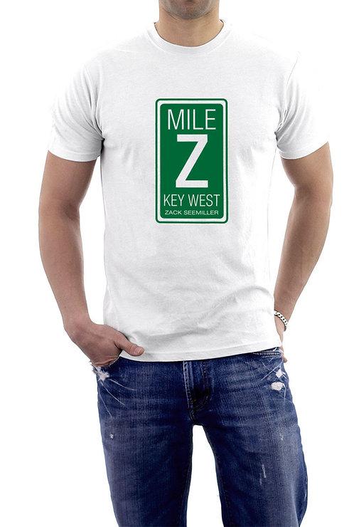 """Mile Z"" T-Shirt - White"