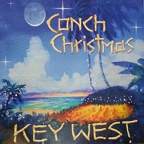 """Conch Christmas"" CD Christmas Card"