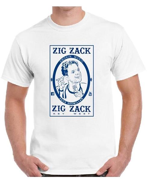 """""""Zig Zack"""" T-Shirt - White"""
