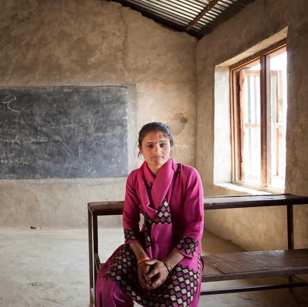 Teacher - Kumari, Nepal