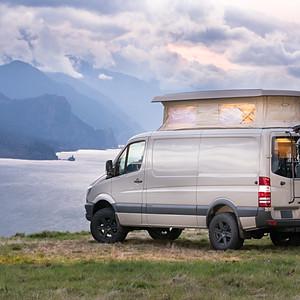 Outside Van Shoot-1 The Van