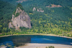 Beacon Rock: Then and Now