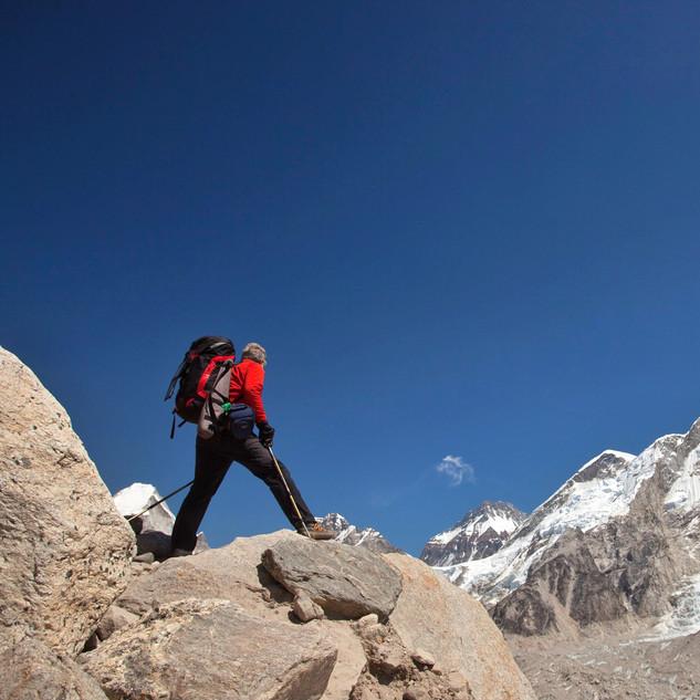 Nearing Everest Base Camp