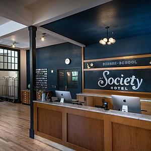 Society Hotel, Bingen - LOBBY