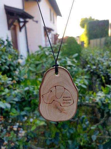 Collana in legno Alani Rescue