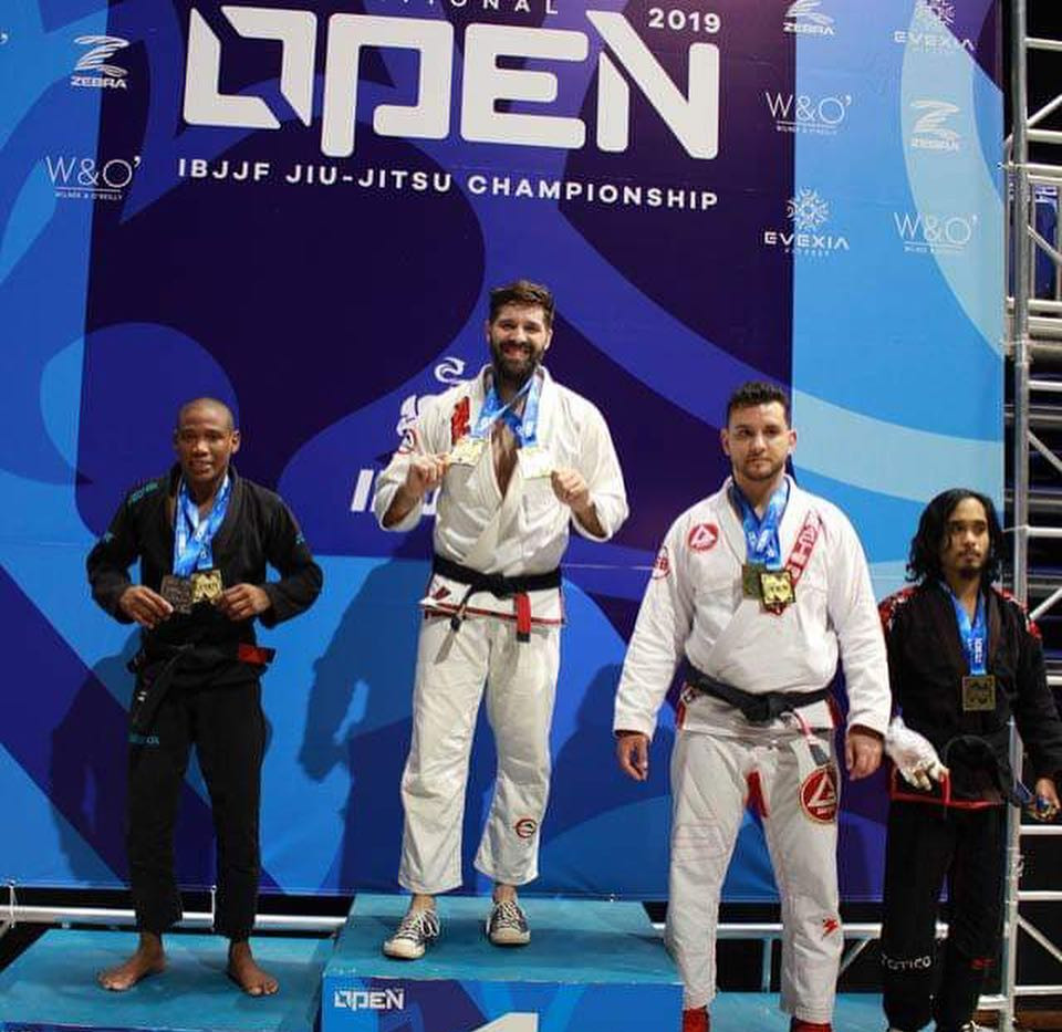 Nick Sanders Double Gold