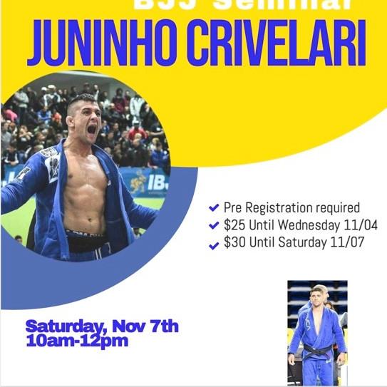 Juninho Crivelari Seminar