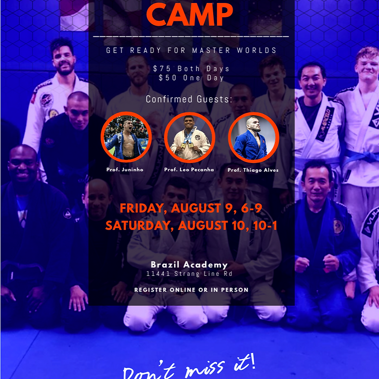 Jiu Jitsu Camp 2019