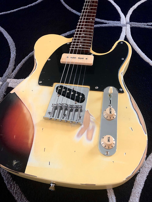 Paint-Over Relic Model T - Butter Yellow / 3TS