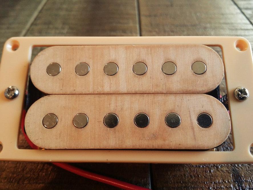 Wood Rock Humbucker Pickup Set - Maple