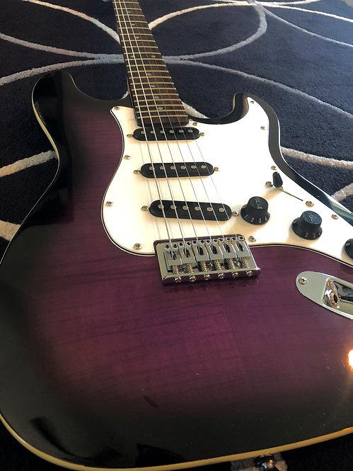 Purple Burst Longhorn - Bound Hardtail