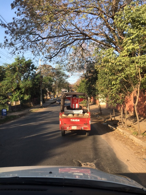 Paraguayan load tie-down