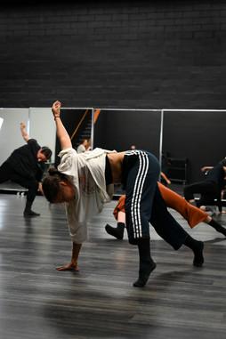Gabriella dances in the XL.
