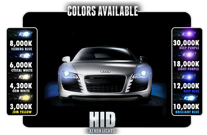 Hid Colours | Techvillehid