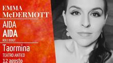 Aida role debut! Teatro Antico di Taormina