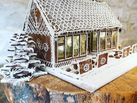 Jacks Gingerbread House!