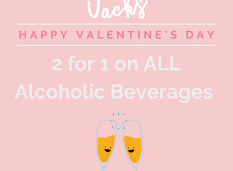 Valentine's Drinks Offer