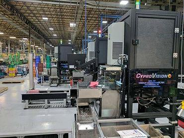 Mach 10 Inspection System in USTsubaki Plant