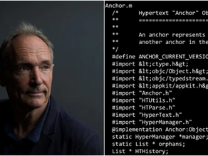 Tim Berners-source Lee's code for the World Wide Web is up for auction as NFT.