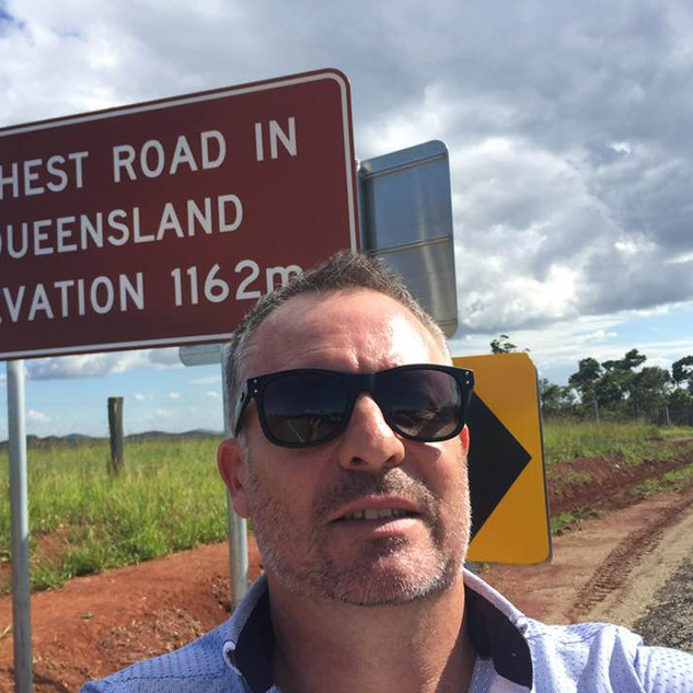 Highest road in Qld