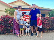Oliver Voss sells 27 Gamburra Drive Redlynch to this amazing family.