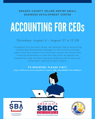 Accounting for CEOs