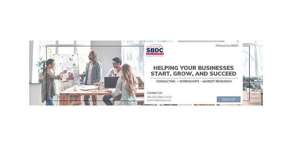 OCIE SBDC Intake Appointments