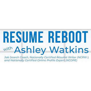 Resume Reboot Workshop