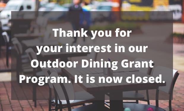 OC Restaurant Outdoor Dining Grant Progr