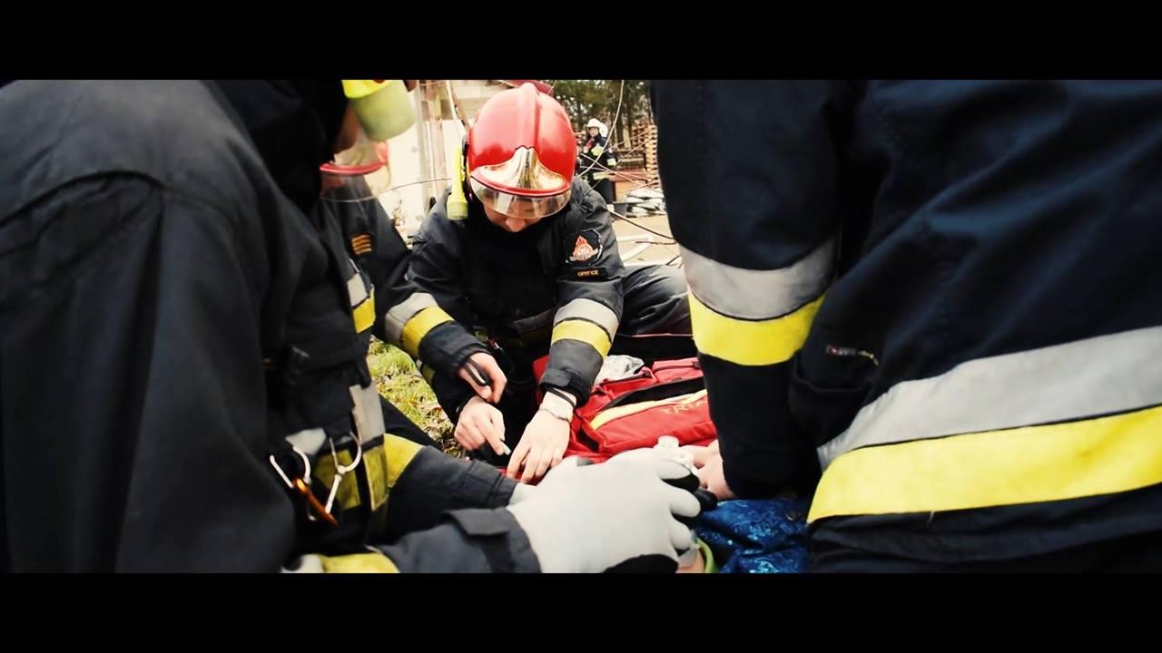 Ćwiczenia Strażackie w Stajni Pestka w Mrzeżynie 2017