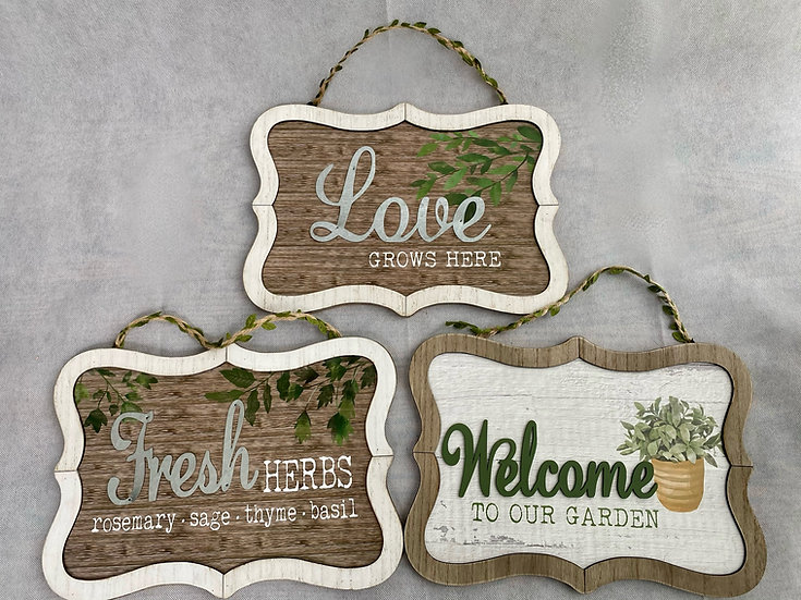 Garden Signs - Gift Add-ons