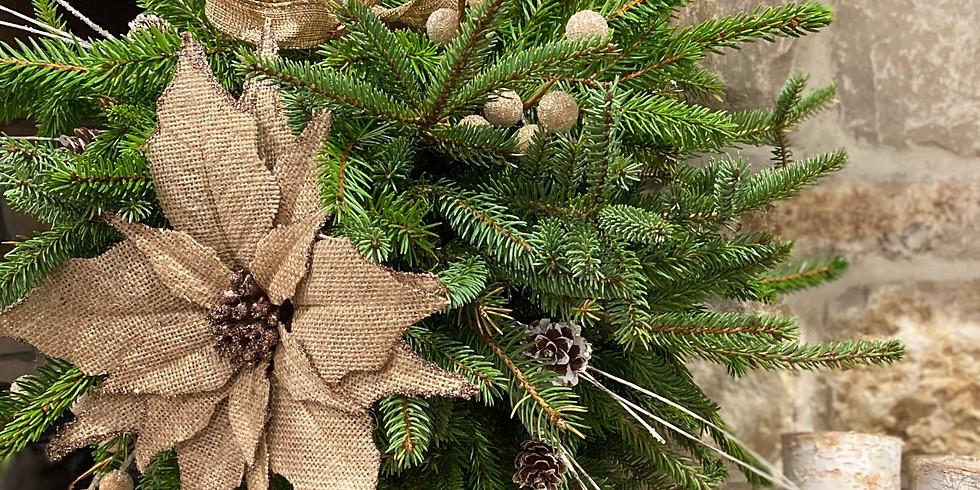 Christmas Kissing Ball Craft Night