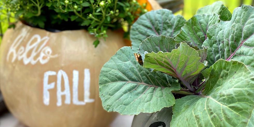 Fall Crafting Event - Pumpkin Planter