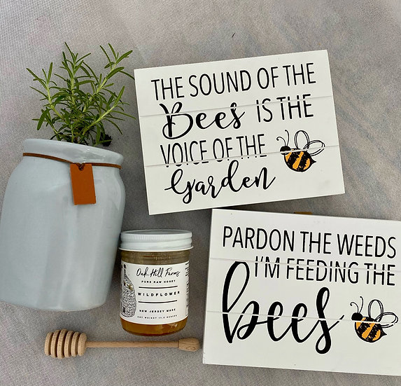 The Bee Garden- COLLAB with Oak Hill Farms