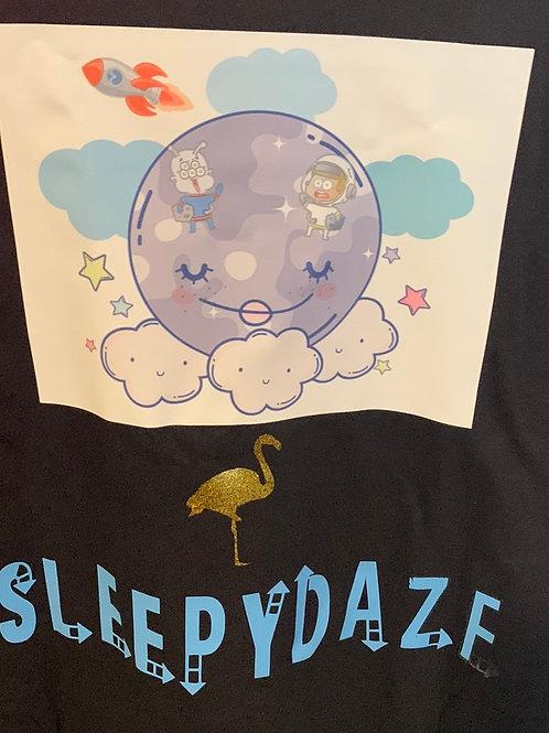 Sleepy Full Moon T-shirt