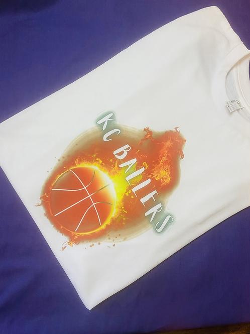 KC ballers fire T-shirt
