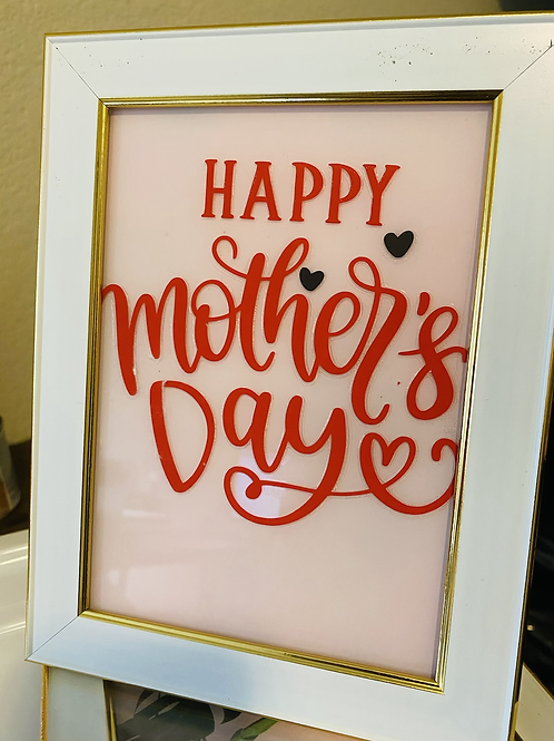 Mother's Day framed photo