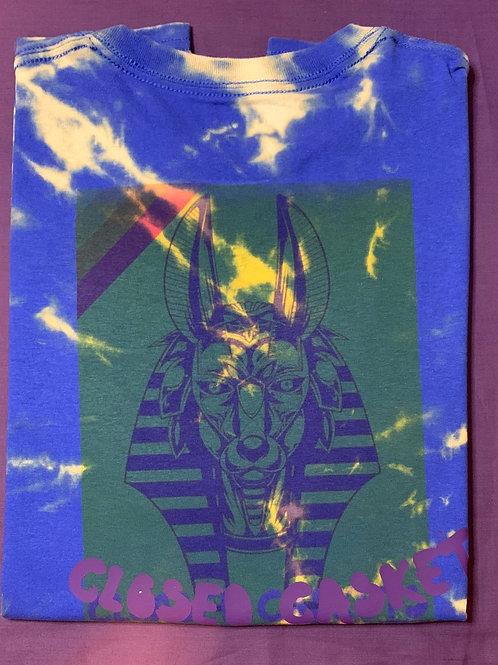 Anubis CC tie dye T-shirt