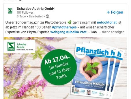 Sondermagazin Phytotherapie