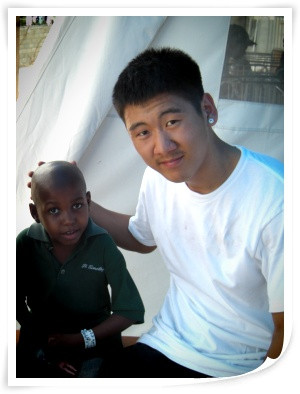 [Han Pak] Haiti has been an eye opening and touching experience