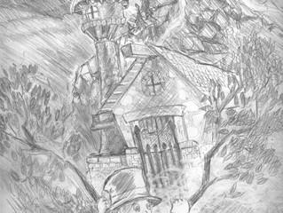 Sketch of Archibald Grimm