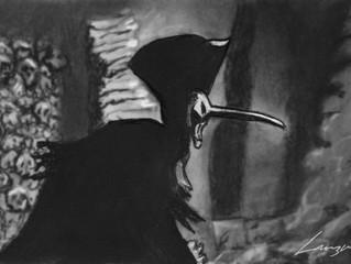 """Crowsketch: """"A Cask of Amontillado"""""""