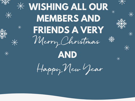 🎄 Wishing all of our members and friends a very Merry Christmas and Happy New Year! 🎅