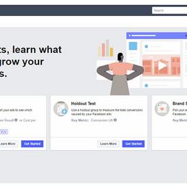 "Facebook lanceert ""Experiments"""