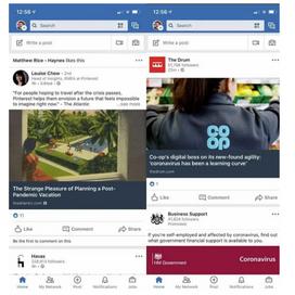 Linkedin probeert wat kleur uit in tijdlijn posts